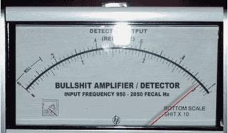 Bullshit amplifier