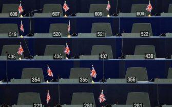 Empty EU Parliament