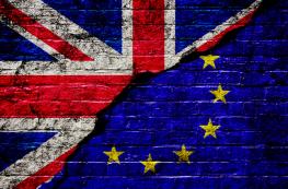 UK-EU flags