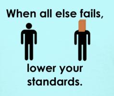 Low standards-1