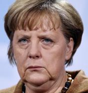 Gloomy Merkel
