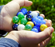 Sharing marbles