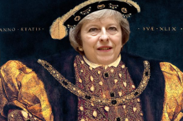 May as Henry VIII