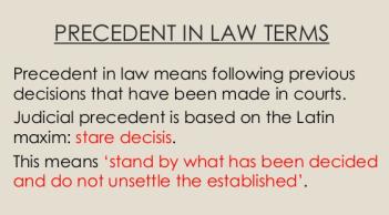 Precedent-1