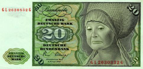 Deutschmark imagined