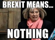 Brexit means ?