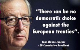 Junker's democracy