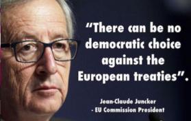 Junker's democracy
