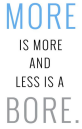 More-less