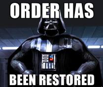 Order restored-2