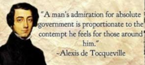 de Tocqueville on autocracy