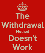 Withdrawal poster