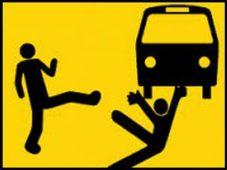 Under a bus 1