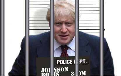 Boris behind bars