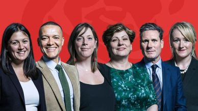 Labour Leaders Contenders